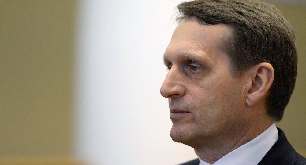 Président de la Douma Sergueï Narychkine