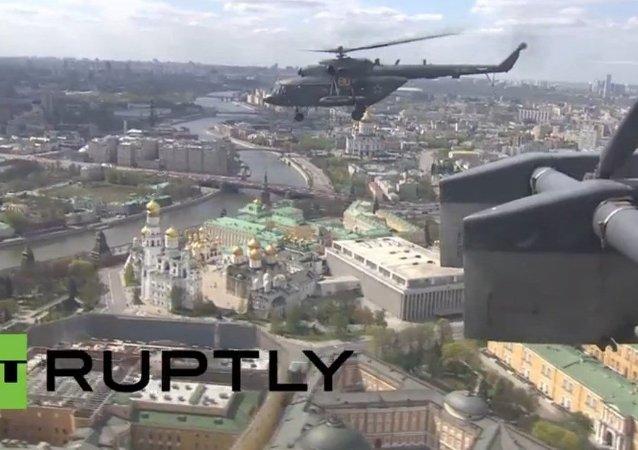 Répétition du défilé de la Victoire: 140 aéronefs de combat dans le ciel de Moscou