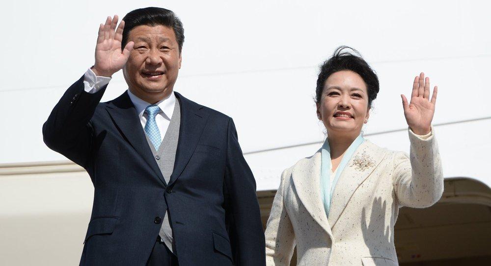 China Xi Jinping et son épouse