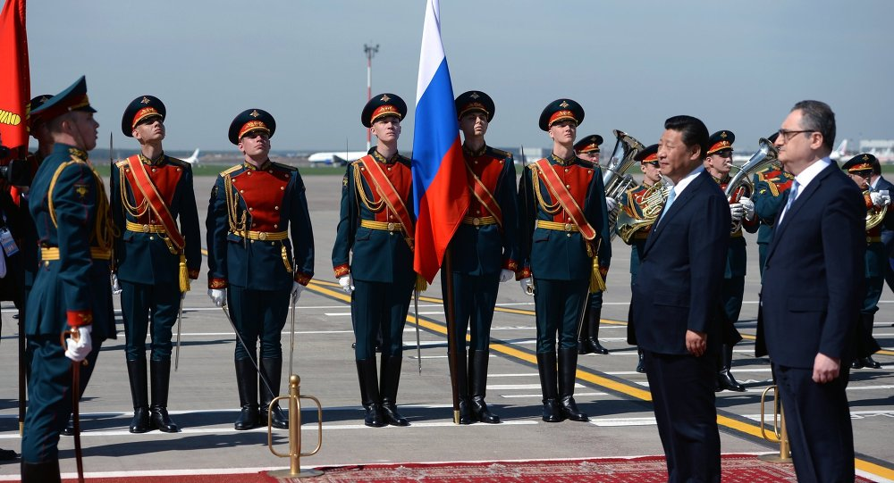 Le chef de l'Etat chinois Xi Jinping est arrivé à Moscou