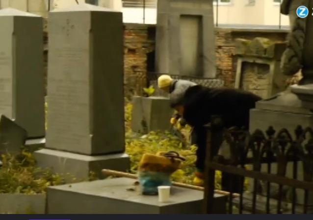 Personne à Vienne ne savait pour le cimetière juif