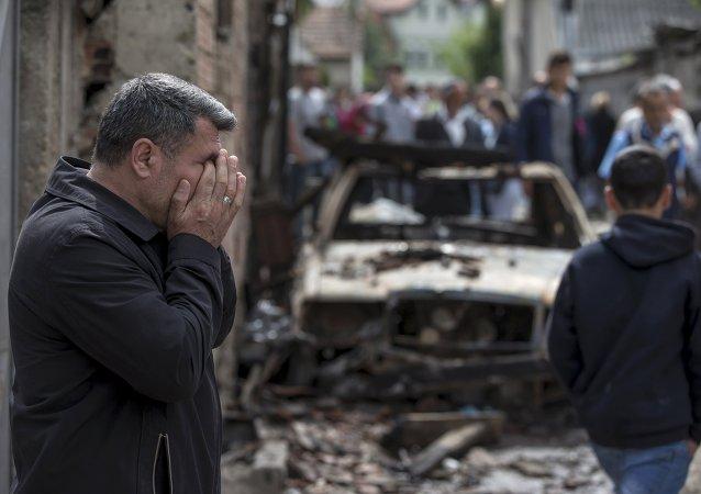 Macédoine: Kumanovo dévastée par les combats