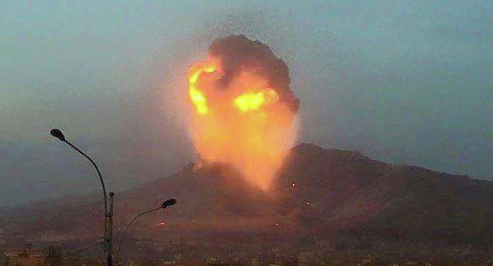 Bombardement de Sanaa