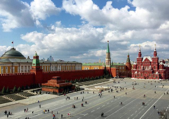 La place Rouge de Moscou