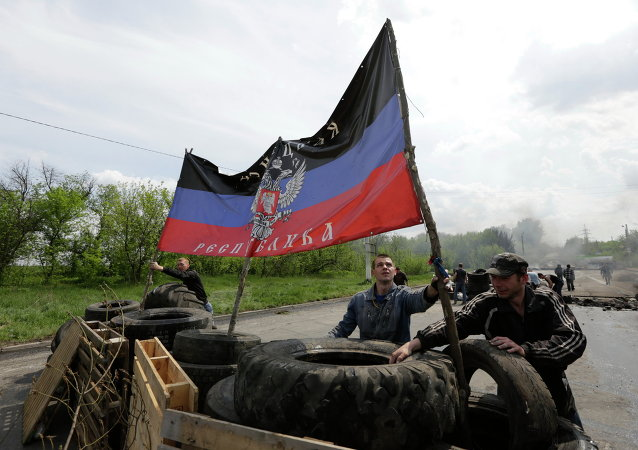 Drapeau de Donetsk
