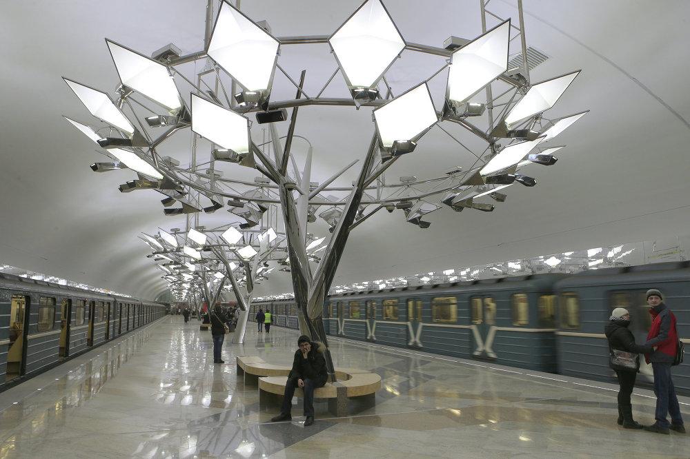 La station de métro Troparevo