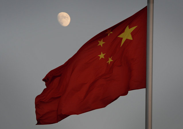 La drapeau chinois