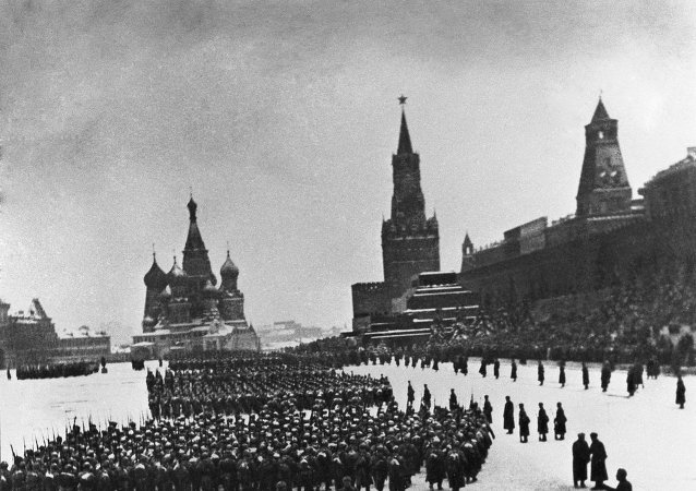 Parade on Red Square