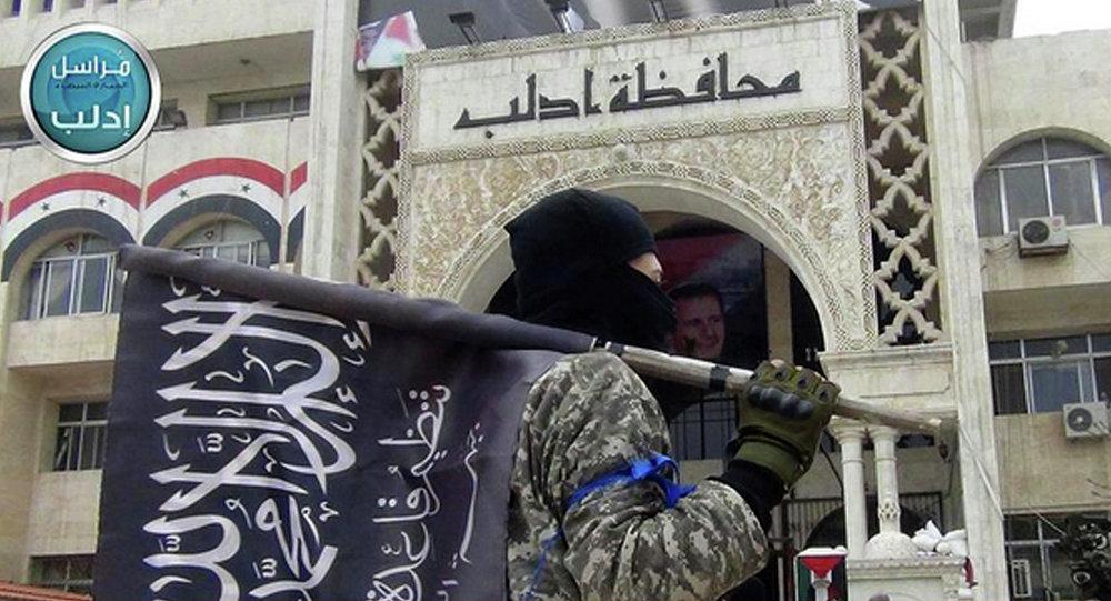 Combattant du Front al-Nosra en Syrie