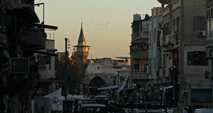 Vue sur Damas (archives)
