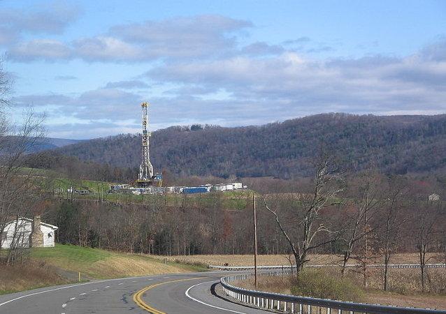 Gisement de gaz de schiste en Pennsylvanie