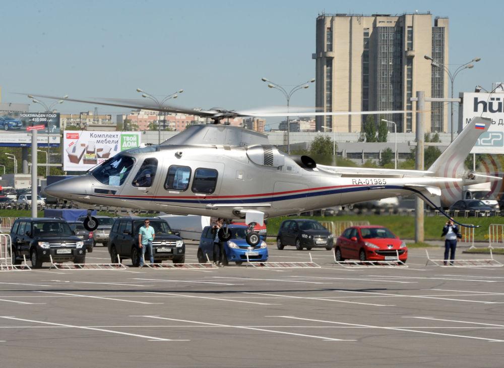 L'hélicoptère AW109