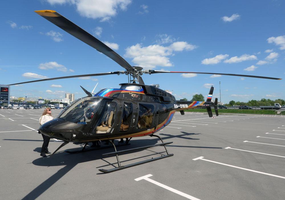 L'hélicoptère Bell 407 GX