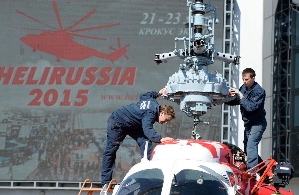 L'hélicoptère russe ultraléger Afalina constituera une des premières de ce salon