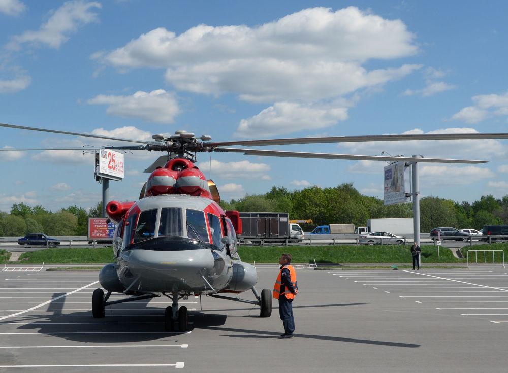 L'hélicoptère Mi-171 E (Mi-8AMT)