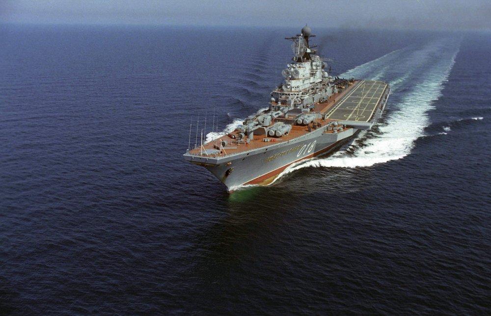 Le croiseur porte-aéronefs Novorossiïsk