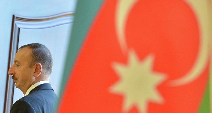 Ilham Aliev, président de l'Azerbaïdjan