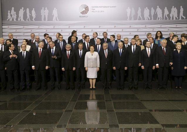 Participants au sommet de Riga
