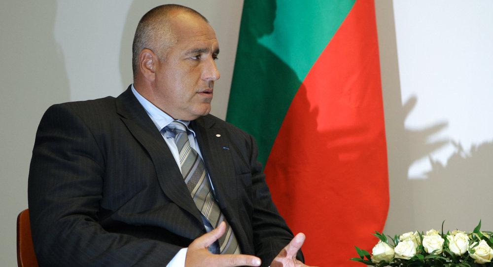 Boïko Borissov. Archive photo
