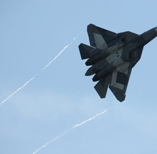 Le chasseur russe T-50
