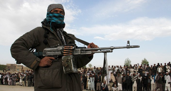 Un soldat taliban