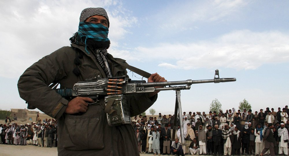 Un membre du Taliban