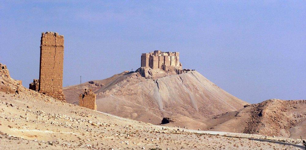 La forteresse de Palmyre (château-fort de Fakhr-ed-Din)