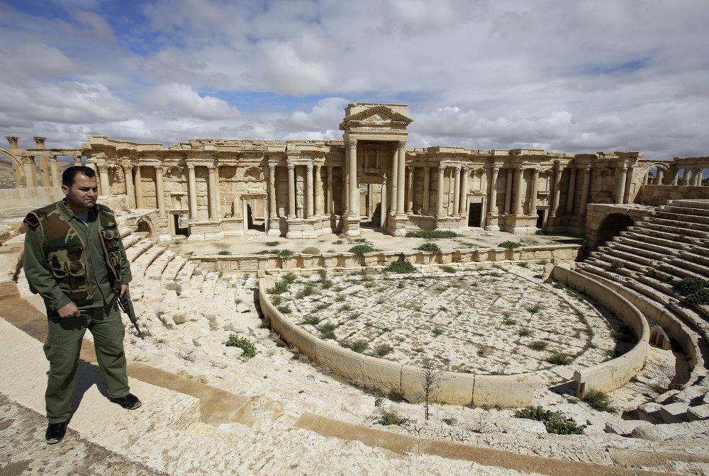 Amphithéâtre de Palmyre