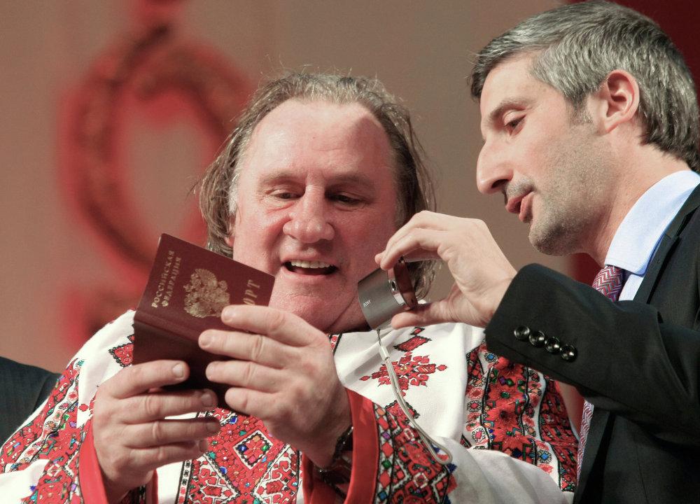 Gérard Depardieu, le plus russe des Français