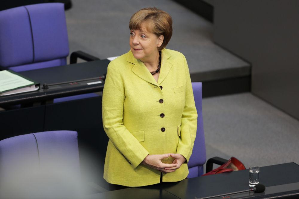 La chancelière de l'Allemagne Angela Merkel
