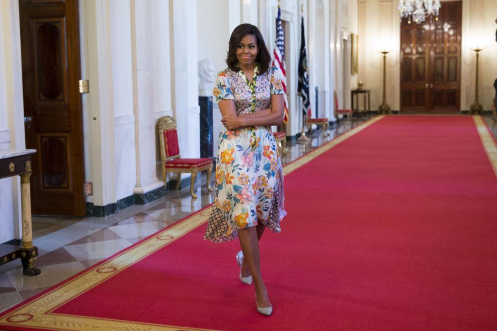 Michelle Obama, première dame des Etats-Unis