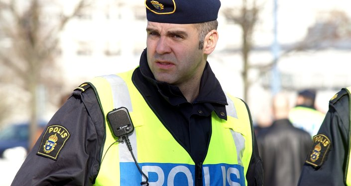 La police suédoise. Image d'illustration