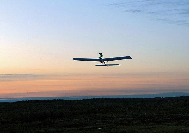 Un drone de reconnaissance