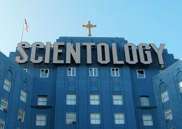 Immeuble de la Scientologie à Los Angeles