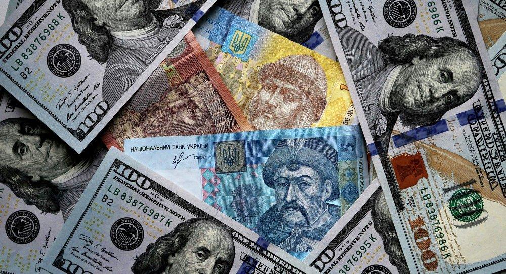 Hryvnias ukrainiens et dollars US