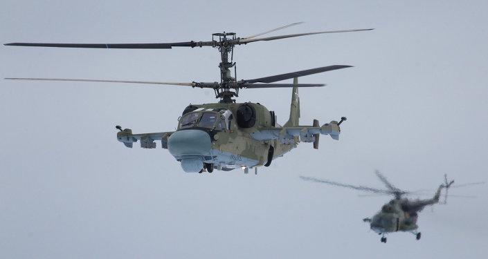 Hélicoptères russes Ka-52 «Alligator»