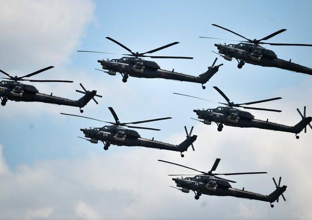 Patrouille aérienne russe Berkouty
