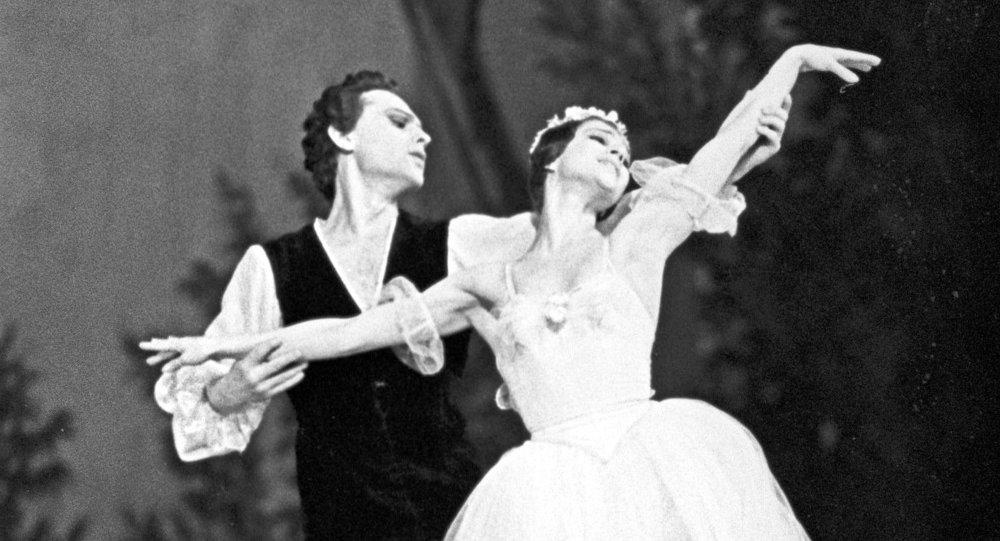 Ballet Chopiniana: Ekaterina Maksimova et Vladimir Nikonov (archives)