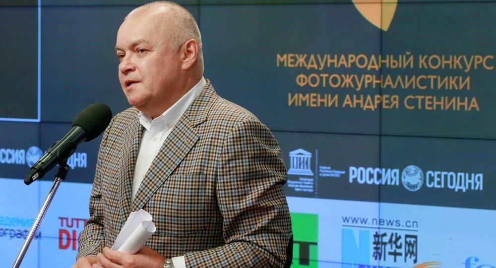 Le Directeur général de l'agence Rossiya Segodnya Dmitri Kisselev
