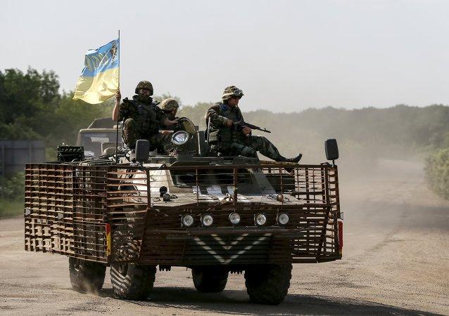 Militaires ukrainiens, Juin 4, 2015.
