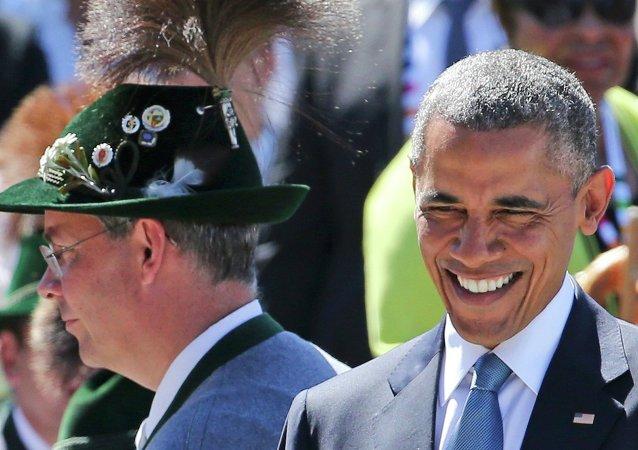 Barack Obama, Krün, Bavière, Juin 7, 2015