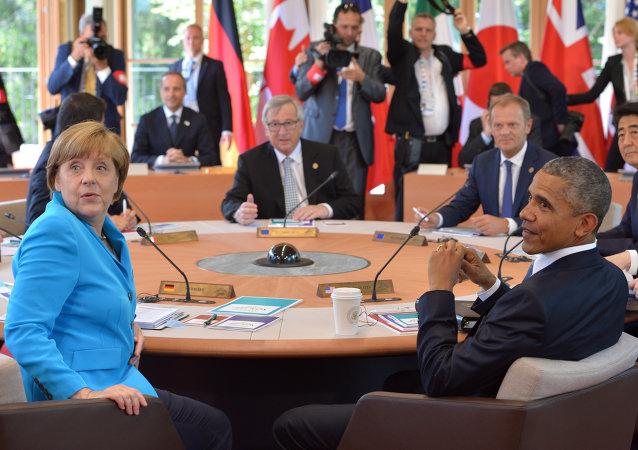 Sommet du G7 au château d'Elmau