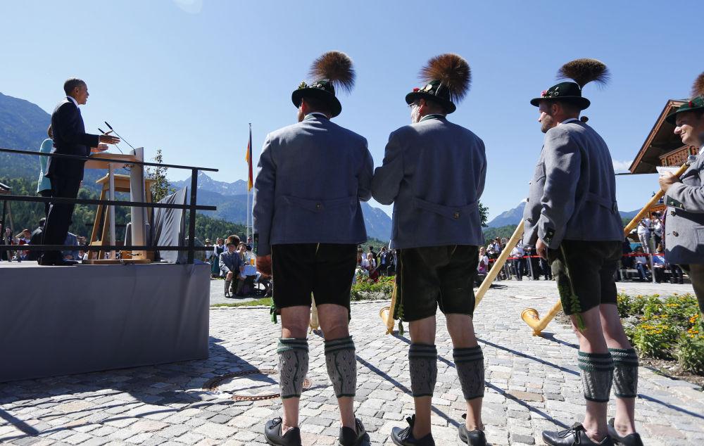 Le sommet bavarois du G7