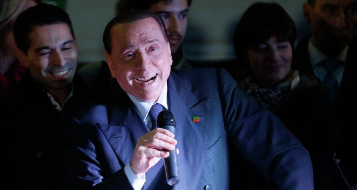 L'ex-premier ministre italien Silvio Berluscouni