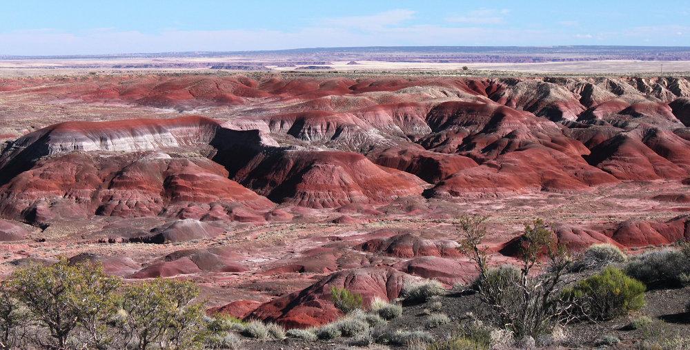 Painted Desert (Arizona, USA)