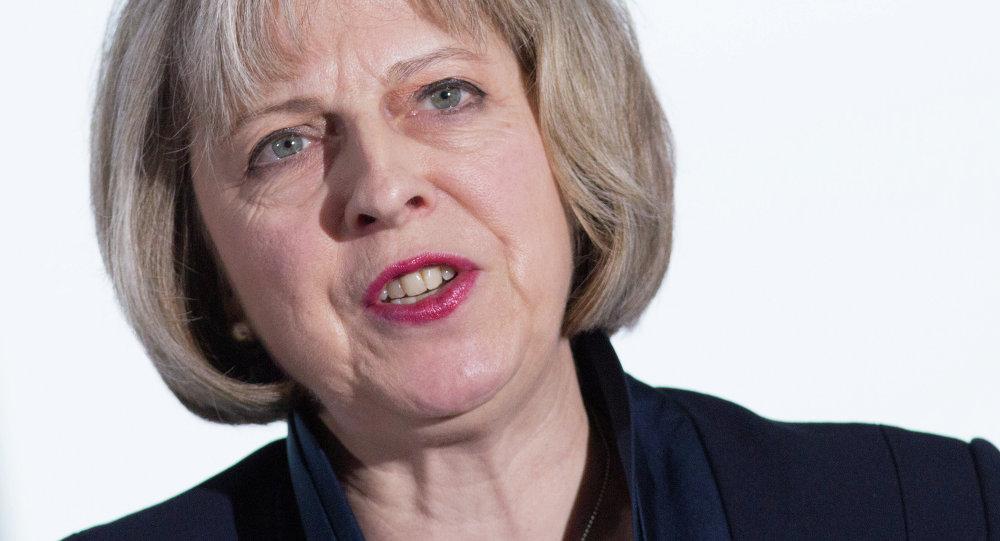 British Home Secretary Theresa May