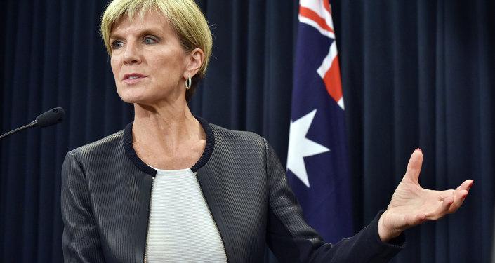 la ministre australienne des Affaires étrangères, Julie Bishop