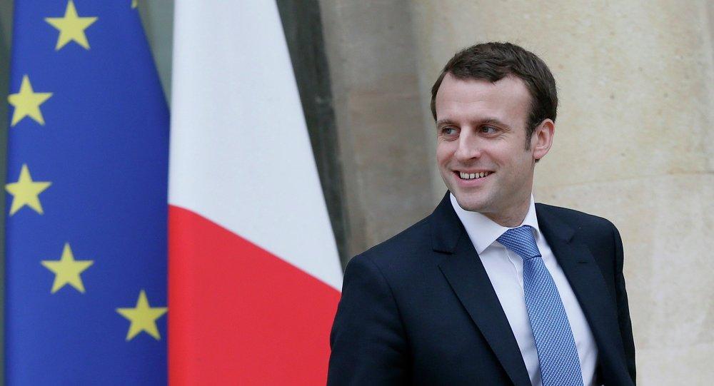 Emmanuel Macron, ministre français de l'Economie, de l'Industrie et du Numérique