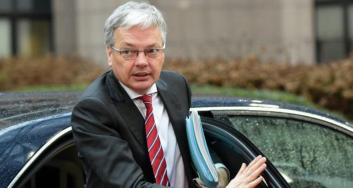 Ministre belge des Affaires étrangères Didier Reynders