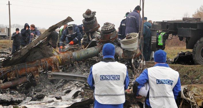 Le site du crash du Boeing malaisien en Ukraine